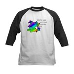 Autism pieces Kids Baseball Jersey
