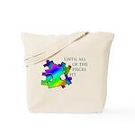 Autism pieces Tote Bag