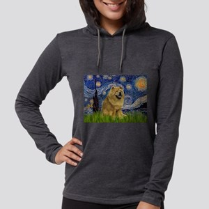 5.5x7.5-Starry-Chow1 Womens Hooded Shirt