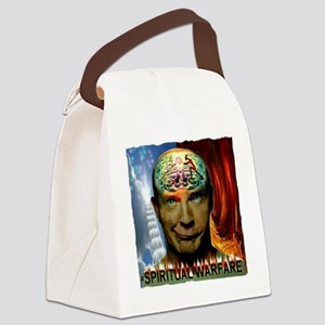 Spiritual Warfare Canvas Lunch Bag