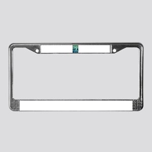 Urban Abstract Art Painting Il License Plate Frame