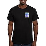 North Men's Fitted T-Shirt (dark)