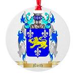 North Round Ornament