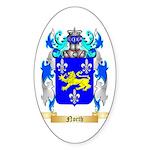North Sticker (Oval 50 pk)