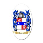 Norries 20x12 Oval Wall Decal