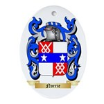 Norrie Oval Ornament