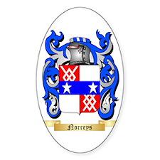 Norreys Sticker (Oval)