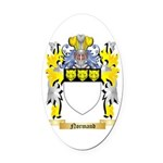 Normand Oval Car Magnet