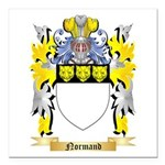 Normand Square Car Magnet 3