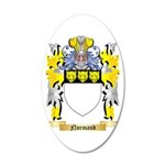 Normand 35x21 Oval Wall Decal