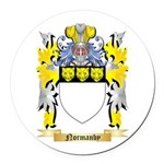 Normanby Round Car Magnet