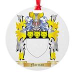 Norman Round Ornament