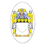 Norman Sticker (Oval 50 pk)