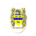 Norie Oval Car Magnet