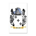 Norcott Rectangle Car Magnet