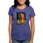 Cocker #9 - MidEve Womens Tri-blend T-Shirt
