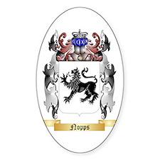 Nopps Sticker (Oval)