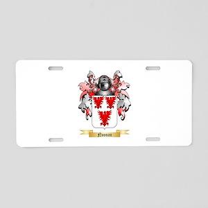 Noonan Aluminum License Plate