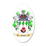 Nollet 35x21 Oval Wall Decal