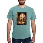 MP-QUEEN-Cocker7 Mens Comfort Colors Shirt