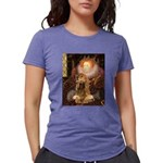 MP-QUEEN-Cocker7 Womens Tri-blend T-Shirt