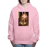MP-QUEEN-Cocker7 Women's Hooded Sweatshirt