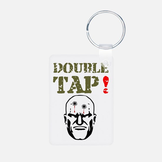 DOUBLE TAT - TWO IN THE HEAD! Keychains