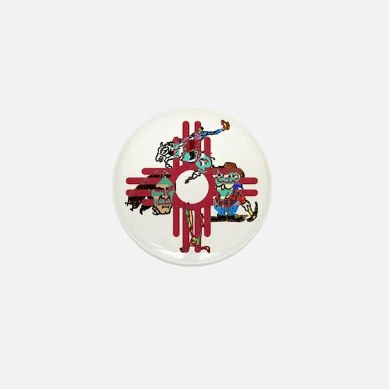 New Mexico - Mini Button