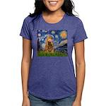 MP-STARRY-Cocker7 Womens Tri-blend T-Shirt