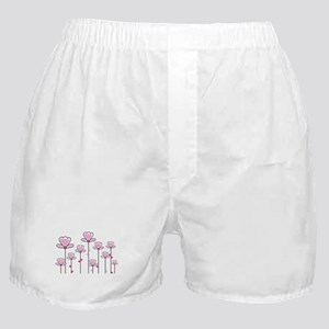 Pink flower design Boxer Shorts