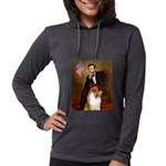 MP-Lincoln-Collie1 Womens Hooded Shirt