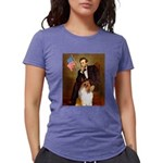 MP-Lincoln-Collie1 Womens Tri-blend T-Shirt
