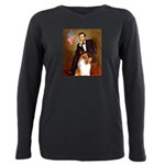 MP-Lincoln-Collie1 Plus Size Long Sleeve Tee