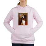 MP-Lincoln-Collie1 Women's Hooded Sweatshirt