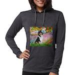 MP-GARDEN-Collie-Tri3 Womens Hooded Shirt
