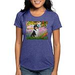 MP-GARDEN-Collie-Tri3 Womens Tri-blend T-Shirt