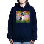 MP-GARDEN-Collie-Tri3 Women's Hooded Sweatshir