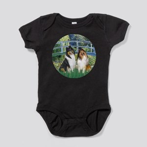 MP-BRIDGE - ColliePAIR Baby Bodysuit