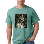 MP-OPH2-Collie-Tri3 Mens Comfort Colors Shirt