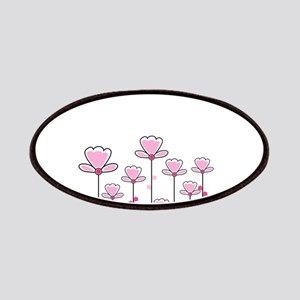 Pink flower design Patch