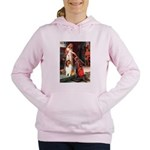 5.5x7.5-Accolade-Collie1 Women's Hooded Sweats