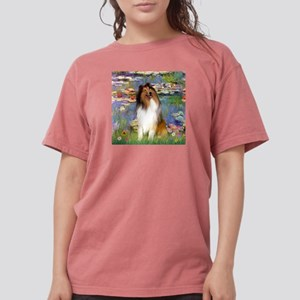 MP-Lilies2-Collie1 Womens Comfort Colors Shirt