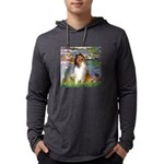 MP-Lilies2-Collie1 Mens Hooded Shirt