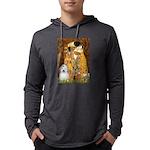 Kiss-Coton2 Mens Hooded Shirt