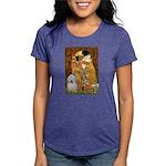 Kiss-Coton2 Womens Tri-blend T-Shirt