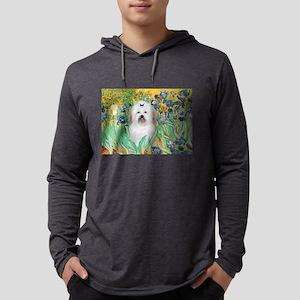 5.5x7.5-Irises-Coton2 Mens Hooded Shirt