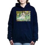 5.5x7.5-Irises-Coton7 Women's Hooded Sweatshir
