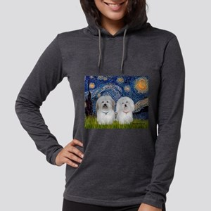 MP-Starry-CotonPAIR Womens Hooded Shirt