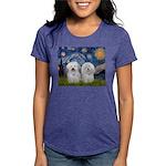 MP-Starry-CotonPAIR Womens Tri-blend T-Shirt