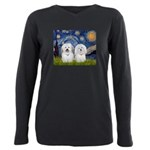 MP-Starry-CotonPAIR Plus Size Long Sleeve Tee